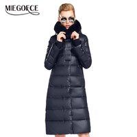 Miegofce kadın ceket ceket orta boy kadın parka bir tavşan kürk kış kalın ceket kadınlar kış koleksiyonu ile 210813