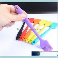 Pastry Bakeware Kitchen, Dining Bar Home & Garden1Pcs Multi Safety Oil Brush Bbq Supplies 21*3Cm Barbeque Sile Baking Tools Random Color Dro