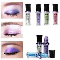 Göz Farı Güzellik Tek Rulo Renk Rulo-On Göz Farı Glitter Pigment Gevşek Toz Makyaj Aracı Kozmetik