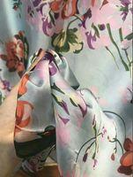 جودة عالية أزياء الخريف والشتاء العلامة التجارية الحرير والأوشحة الحريرية كلاسيكي، سوبر طويل شال أزياء المرأة والأوشحة الحريرية الناعمة