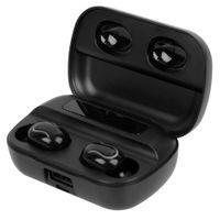 In Ear True Wireless Earbuds Bluetooth 5.0 Earphones TWS IPX7 Waterproof Headphones 8D Stereo Noise Cancelling Headset