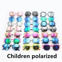 Dzieci Spolaryzowane Okulary przeciwsłoneczne Fashion Boys Girls Okulary przeciwsłoneczne Nowy Multicolor Dzieci Okulary Hurtownie MOQ = 50