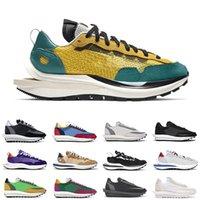 Nike VaporWaffle Herren Damen Freizeitschuhe Dark Iris Tour Yellow Sesame Blue Void Villain Red Herren Sneakers