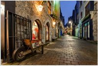 3d wallpaper on the wall custom photo mural Night view of european town streets home decor living room wallpaper for walls 3 d