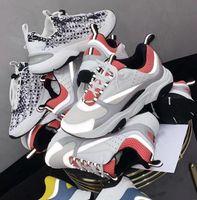 المصممون B22 B23 عارضة أحذية رجالية النساء قماش سنيكرز سليانكرز أبيض التقنية متماسكة الرجعية المرقعة المدربين منصة الأحذية مع مربع حجم 35-46