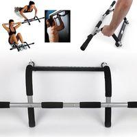 가로 막대 야외 및 실내 훈련 바 신체 피트니스 고정 110kg 철강 풀업 근육 운동