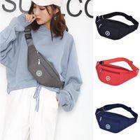 qsj1688 Waist Bags Nylon handbags Man Belt Pouch Women's Bag Pack Wallet Zip Travel Hiking pockets Black Blue Red Gray pink Waists For Men female on sale designer packs