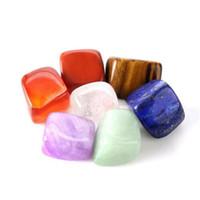 Doğal Kristal Çakra Taş 7 adet Set Doğal Taşlar Palm Reiki Şifa Kristalleri Taşlar Yoga Enerji Doğal Kristal Çakra KKA4146