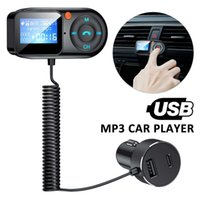 Car Bluetooth Transmitter 5.0 FM Wireless Radio Adapter Receiver Auto MP3 Music Player Hands-free Calling USB Car Charger