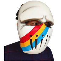Cospaly Anime JoJo's Bizarre Adventure Jotaro Kujo Joseph Hat Army Military Jojo Caps Hats Badges Cosplay Prop Rainbow Mask