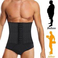 Man Slimming Shaper Male Waist Trainer Cincher Corset Men Body Modeling Belt Tummy Control Shapers Strap Fitness Shapewear