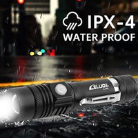 Flashlights Torches Rechargeable Led Mechanical Zoom Usb High Powerful Torch Waterproof 18650 Flash Lights