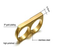 High quality knuckle duster stainless steel creative finger tiger ring men and women outdoor self-defense Personal fashion tools