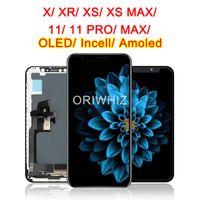 شاشة عرض لفون 11 برو شاشة LCD OLED 12 XS XS ماكس TFT 11PRO MAX مع 3D اللمس عرض محول الأرقام استبدال الجمعية