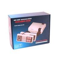 اللاعبين لعبة المحمولة للتلفزيون المصغر يمكن تخزين 620 في 1 لعبة وحدة الفيديو المحمولة من أجهزة ألعاب NES مع صندوق البيع بالتجزئة