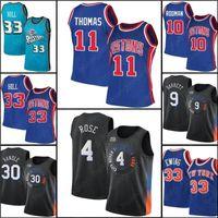 RJ 9 Barrett Julius 30 Randle Derrick 4 Роза Патрик Баскетбол 33 EWing Retro Jersey Isiah 11 Thomas Dennis 10 Rodman Grant