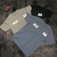 21ss 고 QA5티 여름 망 디자이너 티셔츠 티셔츠 패션 캐주얼 커플 반팔 티 편안한 파리 남성 여성 티셔츠 BA2125