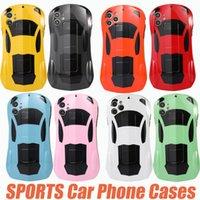 Creative بارد الرياضة حالات الهاتف الهاتف لآيفون 13 12 ميني 11 برو ماكس iPhoneXR XS ماكس 7 8 زائد supercar Outlook الغلاف الخلفي حالة الهاتف المحمول