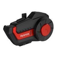 HY-01 Headset de casque d'interphone Bluetooth Bluetooth 1000m pour 3 coureurs imperméables BT Interphone sans fil