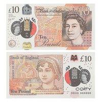 Prop-Geld-Kopie-Spiel UK-Pfund GBP-Bank 10 20 50 Anmerkungen Filme spielen gefälschte Casino-Foto-Stand