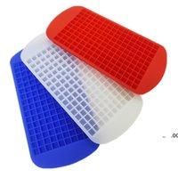 New160 Grids DIY Kreative kleine Eiswürfelform Quadratische Form Silikon Eisschale Obst Eiswürfel Maker Bar Küchenzubehör EWE7274