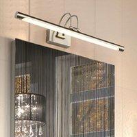 Duvar Lambası FSS Modren Altın Minimalist Ayna Ön Işık LED Banyo Vanity Kabine Kapalı Ev Armatürleri