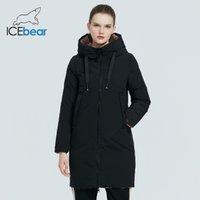 Icebear - Женские двусторонние стеганые и др., Модная зимняя одежда, Parka, GWD20177i, новый в 2021 году