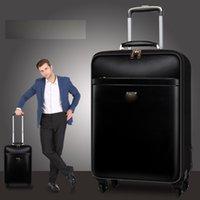Tronco famoso designer in metallo bagaglio in lega di alluminio carry-on rotolando lugthicker viaggio valigia da viaggio sporco high resistenza borsetto triangolo triangolo scatola di segnale in pelle normale