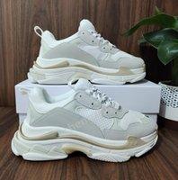 2021 باريس كريستال أسفل الثلاثي s عارضة الأحذية أبي الأحذية منصة ثلاثية s أحذية رياضية للرجال النساء خمر كاني القديم الجد