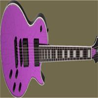 Benutzerdefinierte Version Purple Spiegel Defekte E-Gitarre Freies Verschiffen kann angepasst werden