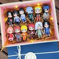 액션 탑 고품질 기념품 크리스마스 선물 Dollq 럭셔리 기념품 카카시 인물 장난감 버전 나루토 사스케 블라인드 박스 Hata 나는 Luo의 사랑