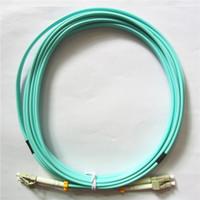 OM3 LC-LC Cordon de raccord de la fibre de la fibre multimode Câble de raccordement UPC LC-LC MM Jumper à fibre optique duplex OM3 3M 10M 30m