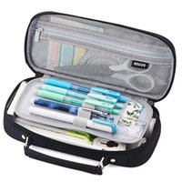 Pencil Bags ANGOO Case Big Capacity College School Office Large Pouch Bag For Girls Boys Teens