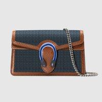 Женщины 476432 Супер мини-цепь кошельки джинсовой ключевой держатель внутри Crossbody маленькие сумки телефона