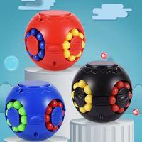Magic Puzzle Ball Fidget Juguete Paquete Estrés Cubo Bola Frijoles Estrés y Ansiedad Alivio Anti por todas las edades Niño con cartón gráfico LLA359