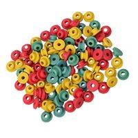 100pcs/lot High Quality Tattoo Machine Rubber Nipple Half Grommets Piston Pin Needle Mat Pad Cushion
