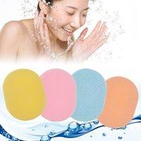 5 قطع الوجه نظف الإسفنج konjac الوجه الجسم غسل نظيفة لينة حمام دش فرك منظفات نفخة الجلد العناية بالبشرة أداة الفقر