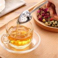 """Sıcak Bahar """"Çay Saati"""" Kolaylık Kalp Çay Demlik Kalp Şeklinde Paslanmaz Bitkisel Çay Demlik Kaşık Filtre YENI 1 S2"""