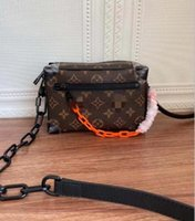 Luxurys Designers simétricas mini macio sacos de tronco genuíno Bucket de couro bolsa de ombro mulheres crossbody cruz bolsa de corpo saco