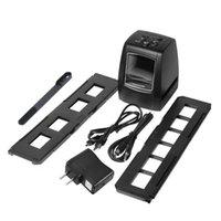 """عالية الدقة 5.0 ميجا بكسل صور ماسحة صور 35/135 ملليمتر الشريحة فيلم ماسحة السينمائي الرقمي محول 2.36 \ """"LCD A4 USB LED LESHP"""