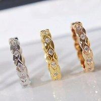 حلقات العنقودية أعلى جودة العلامة التجارية النقي 925sterling الفضة والمجوهرات البيضاوي قفل الصليب الدائري صفعة الزفاف مفتوحة