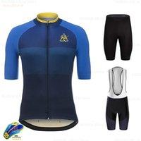 Raudax Bisiklet Jersey 2021 Pro Takım Rx Yeni Kısa Kollu Bisiklet Giyim Kiti MTB Bisiklet Giyim Triathlon Lets