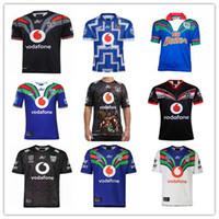 2020 2021 Auckland Warriors Rugby Jerseys 18 19 20 21 Tailândia Qualidade 9s Homens Rugby Shirts NZ Guerreiros Camisas Tamanho: S-3XL
