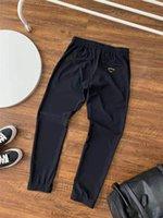 Hommes Pantalon Pantalon Beach Short pour Automne Style Spring Style Unisexe Long Pant Dirment Sports avec Budge Lettres Croître Ajuster des Outwears Capris Street Pulls