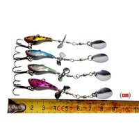 Metal Spinner Baits 12g 4colors Atificial Metal Vib Lure Sets Sequins Fishing Hooks Bass jllClk outbag2007