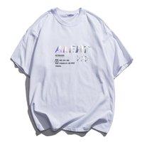 Новая Африка 2021 Eden Electronic Мода Светоотражающая Веселая Рубашка Повседневная Короткий Рукав Мужская Футболка Хлопок Знаменитая улица Верхняя HVCH