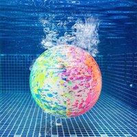 수영장 장난감 공 수중 게임 9 인치 물 채워진 풍선 풍선 파티 풍선 장식 생일 장식 디자인 G77JKOJ
