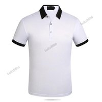 2021 Business Casual Polo shirt tshirt Men Sleeve Stripe Slimmer Manly Society Men's Fashion Checked Five color chooes