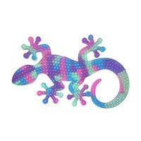 80x55cm gecko fidget des jouets de ventilation poussant bulle de bureau autisme a besoin de stress de décompression de décompression sensorielle thérapie piéteuse de fête de jouet faveur adulte gif gif