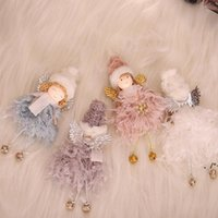 NEWMerry Christmas Decorations For Home Fairy Angel Doll Xmas Navidad Noel Gifts Ornament New Year RRD11311